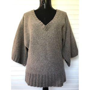 Banana Republic Wool Cashmere Bell Sleeve Sweater